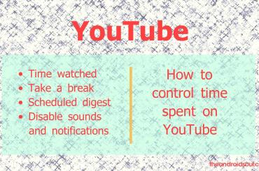 YouTube time watched