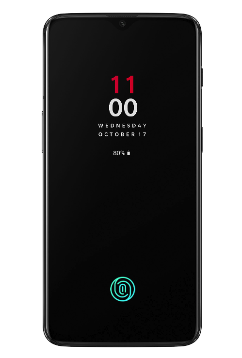 OnePlus 6T in display fingerprint sensor
