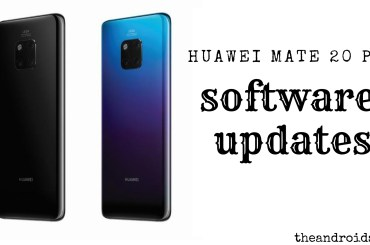 Huawei Mate 20 pro software update