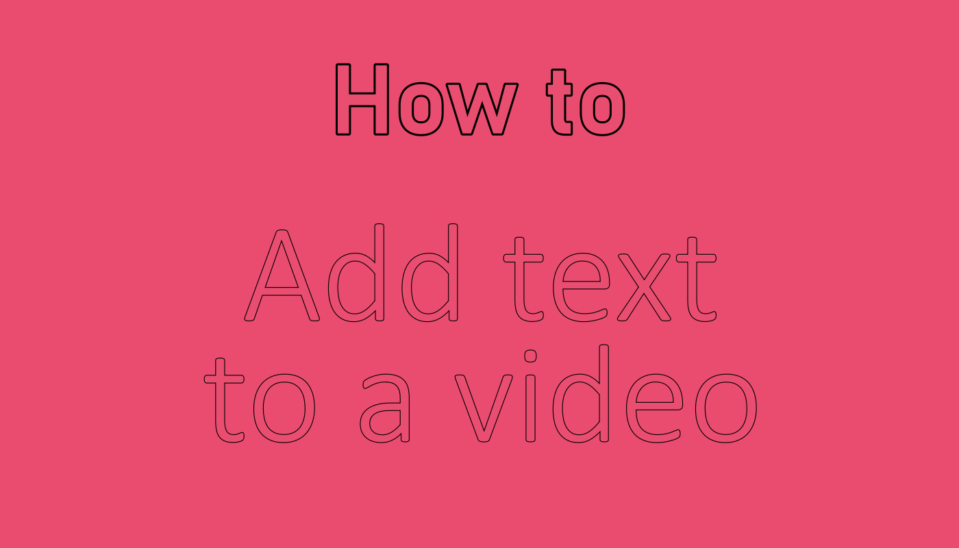 How to add text to video on Android