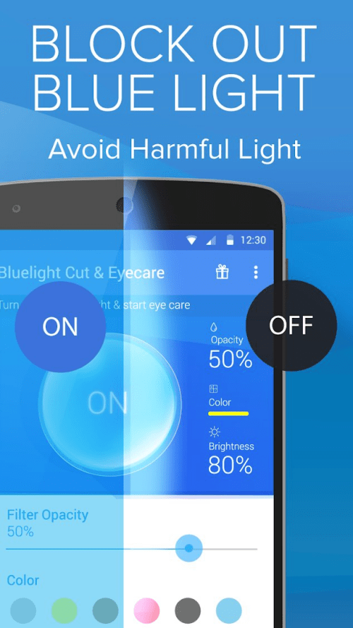 Blue light filter apps 16