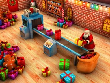 Santa Christmas Escape Mission-4