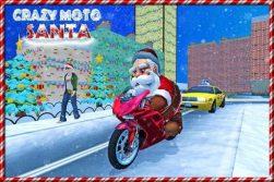 Santa Christmas Moto Gift Delivery -2