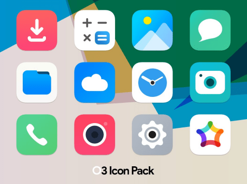 Square icon pack 31