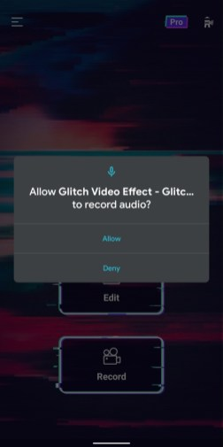 Video editor - glitch video effects - 5