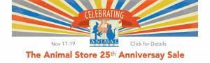 Animal Store Anniversary Sale Popup