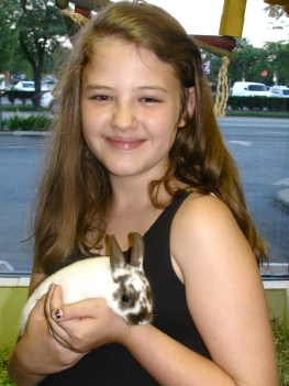 Leila w/Netherland Dwarf Bunny 6/10