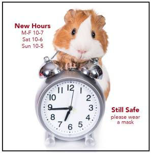 The Animal Store New Hours
