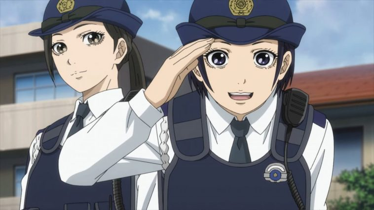 Police in a Pod Anime