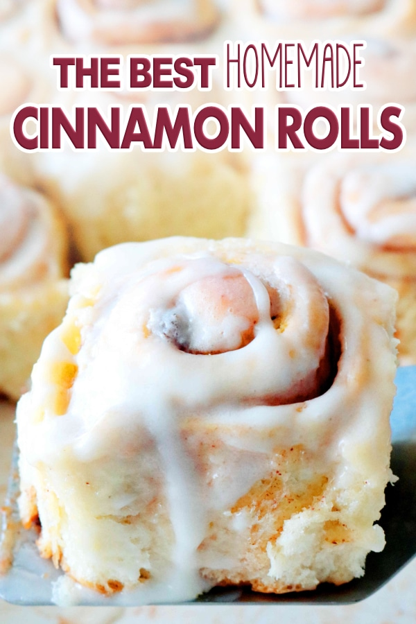The Best Ultimate Cinnamon Rolls Ever