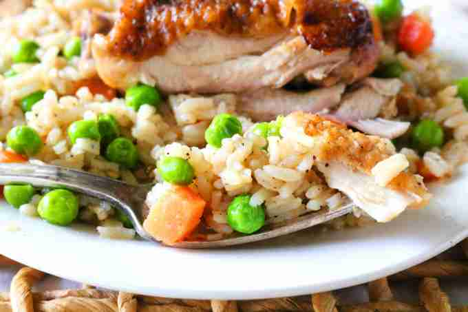 Crock-pot Chicken and Rice