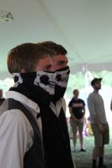 Masked men