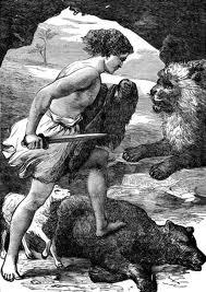 David Slays a Bear