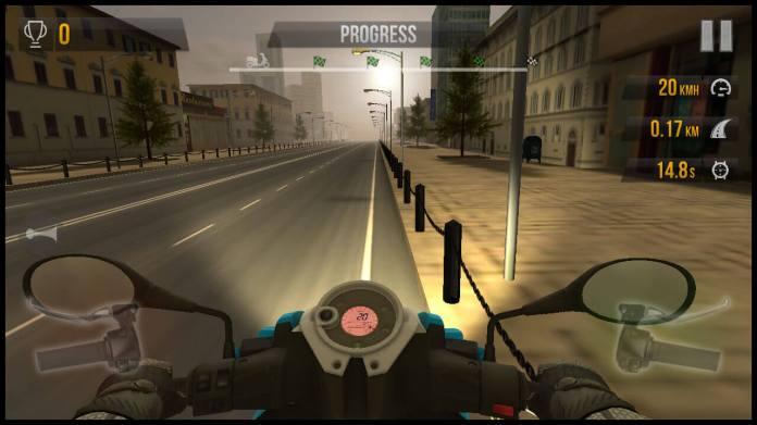 traffic-rider-bike-on-the-road