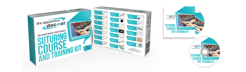 Suture kit and suturing course