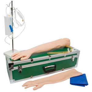 iv arm with replaceable skin