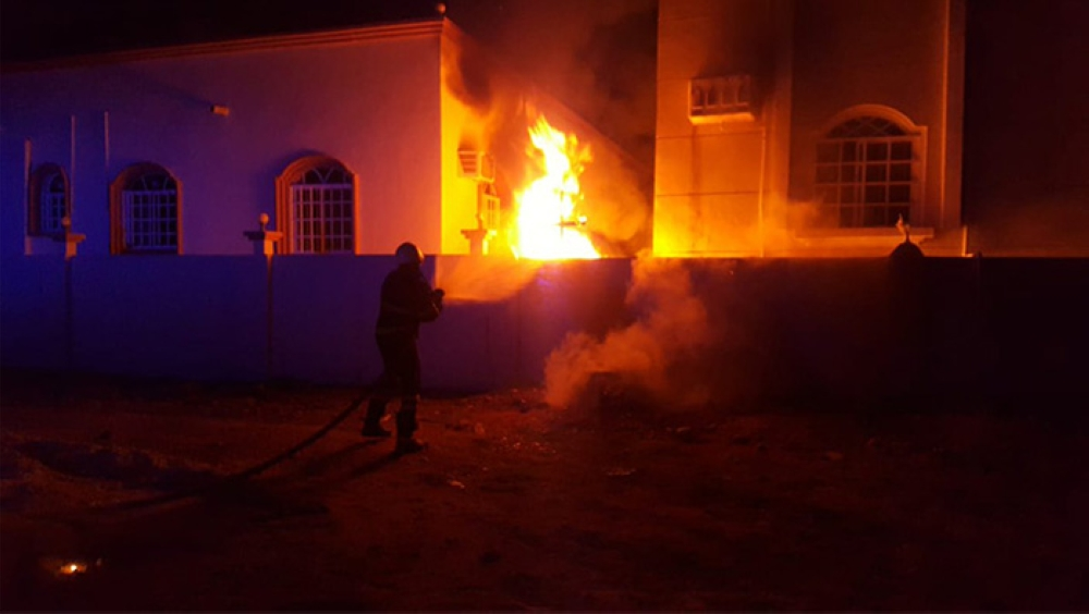 Oman Latest News : PACDA issues advice after spike in house fires in Oman