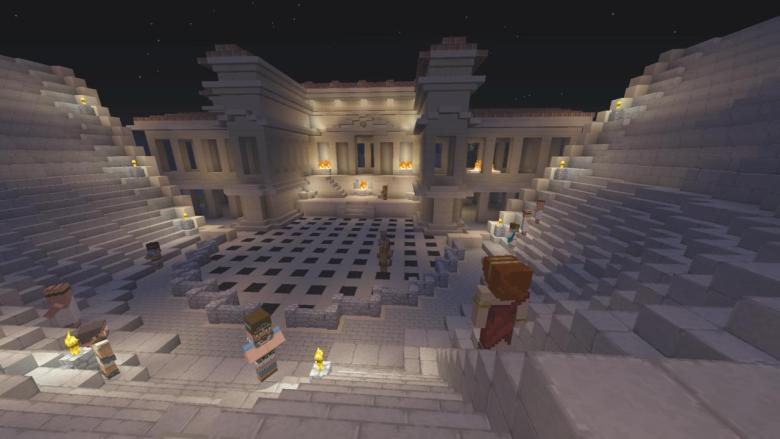Minecraft Xbox One, PS4 Gets Greek Mythology DLC