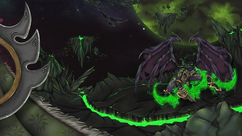 World Of Warcraft Legion Art Contest