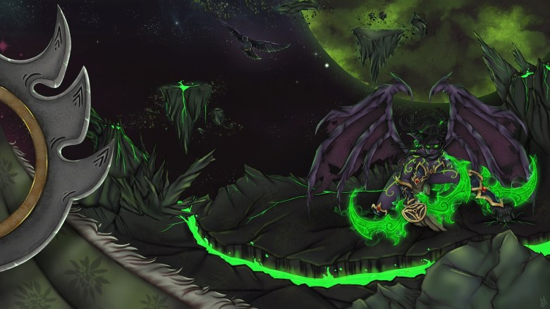 World Of Warcraft Legion Art Contest