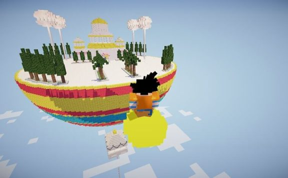 Minecraft Dragon Block C