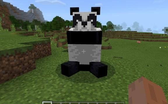Minecraft Pandas