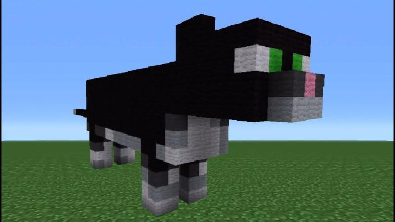 A Cat In Minecraft