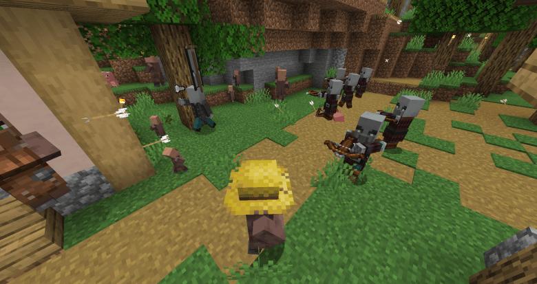 Minecraft Raids