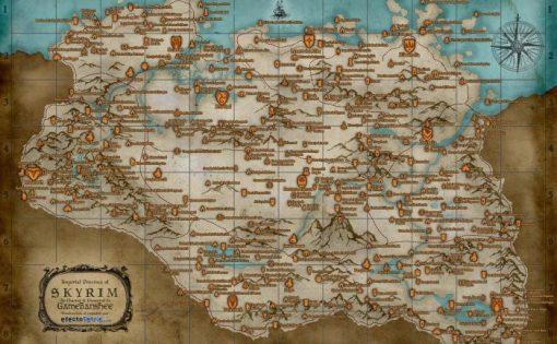 Skyrim - Mapas Interactivos 7