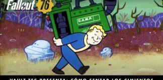 Fallout 76   Construcción de bases, crafting y sistema C.A.M.P.
