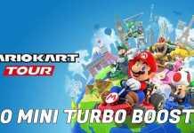 Mario Kart Tour -  Cómo hacer 30 Mini Turbo Boosts en una carrera