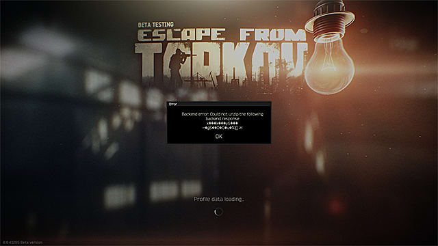 Escape From Tarkov - Solución al error del panel de control