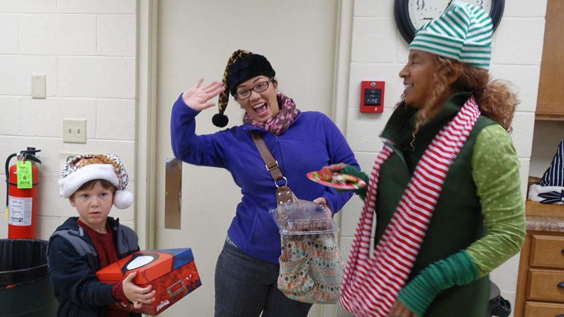 We have lots of fun at our community celebrations!
