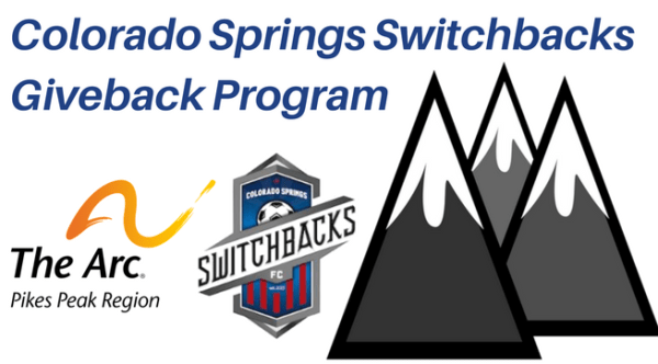 Colorado Springs Switchbacks Giveback Program