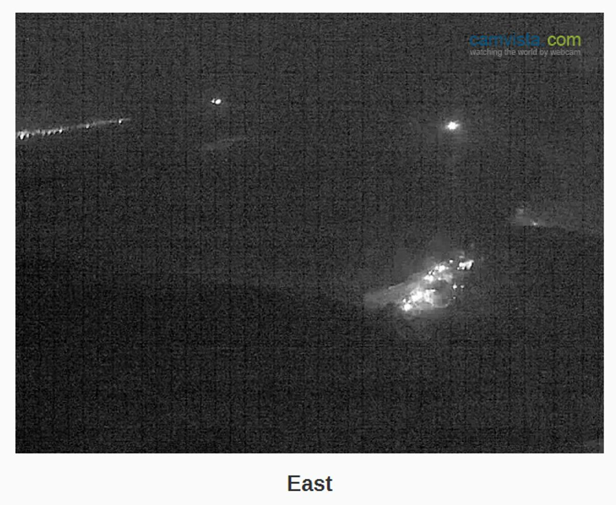A webcam image of the rescue operation at Newhaven. Click on the link at the bottom of the story to view the live webcam.