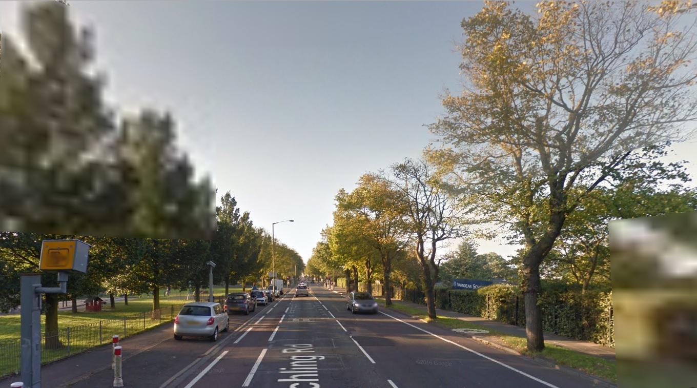 615 motorists were caught speeding by this speed camera in Ditchling Road, Brighton.