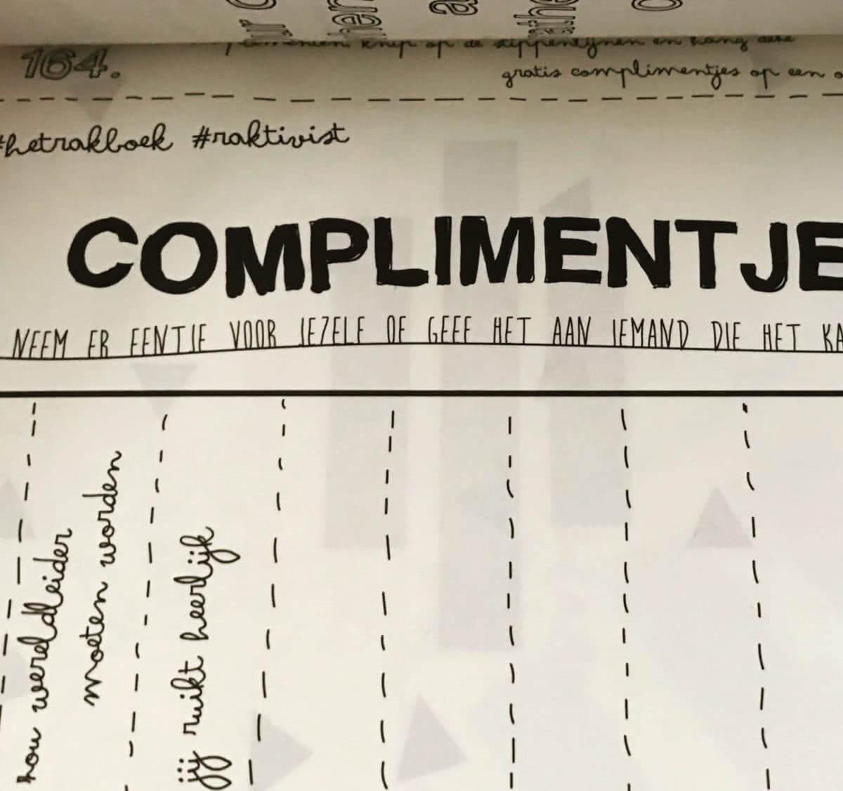 Geef complimentjes weg - Thearie