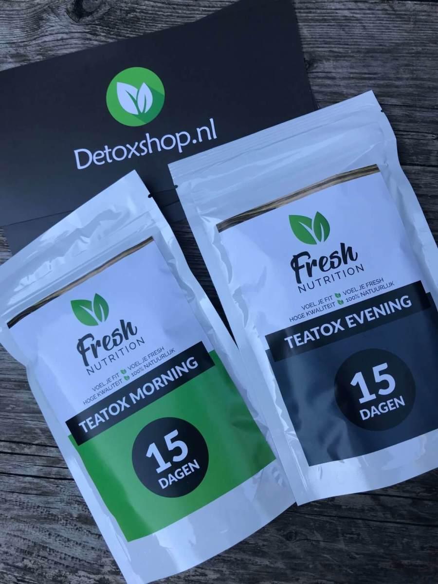 Review; Fresh Teatox 15 dagen detox thee