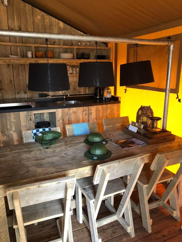 Onze keuken in Safari Resort Beekse Bergen