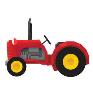 Tractor rides at The Ark Open Farm