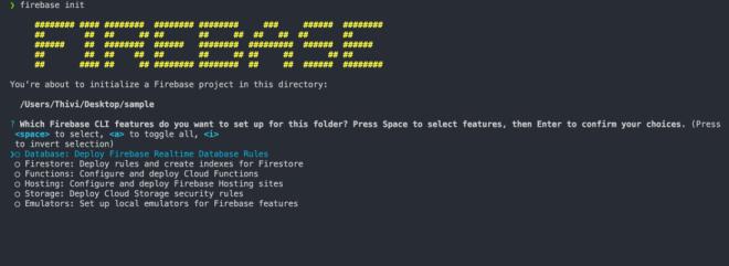 Firebase CLI