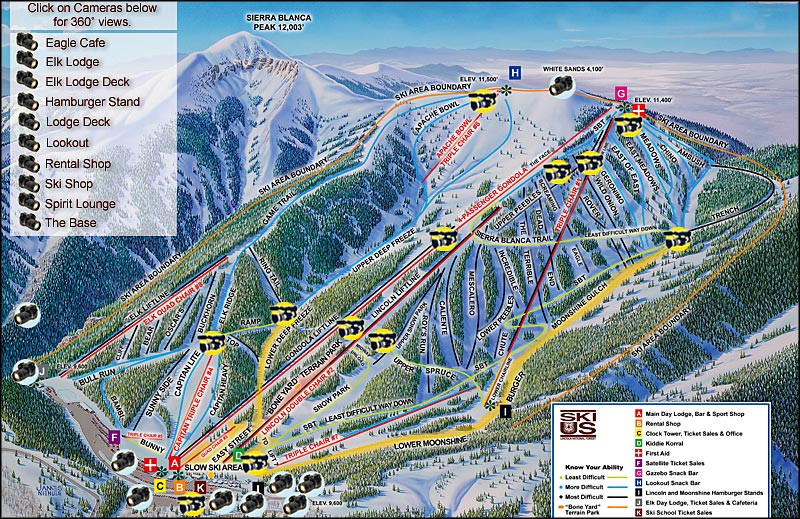 Ski Apache The Sights And Sites Of America