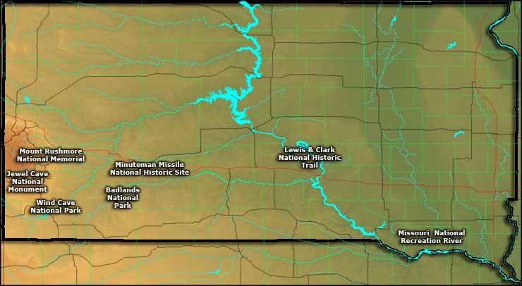Jewel Monument Dakota Cave South National
