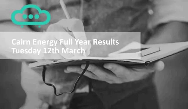 Cairn Energy Shares Mar19