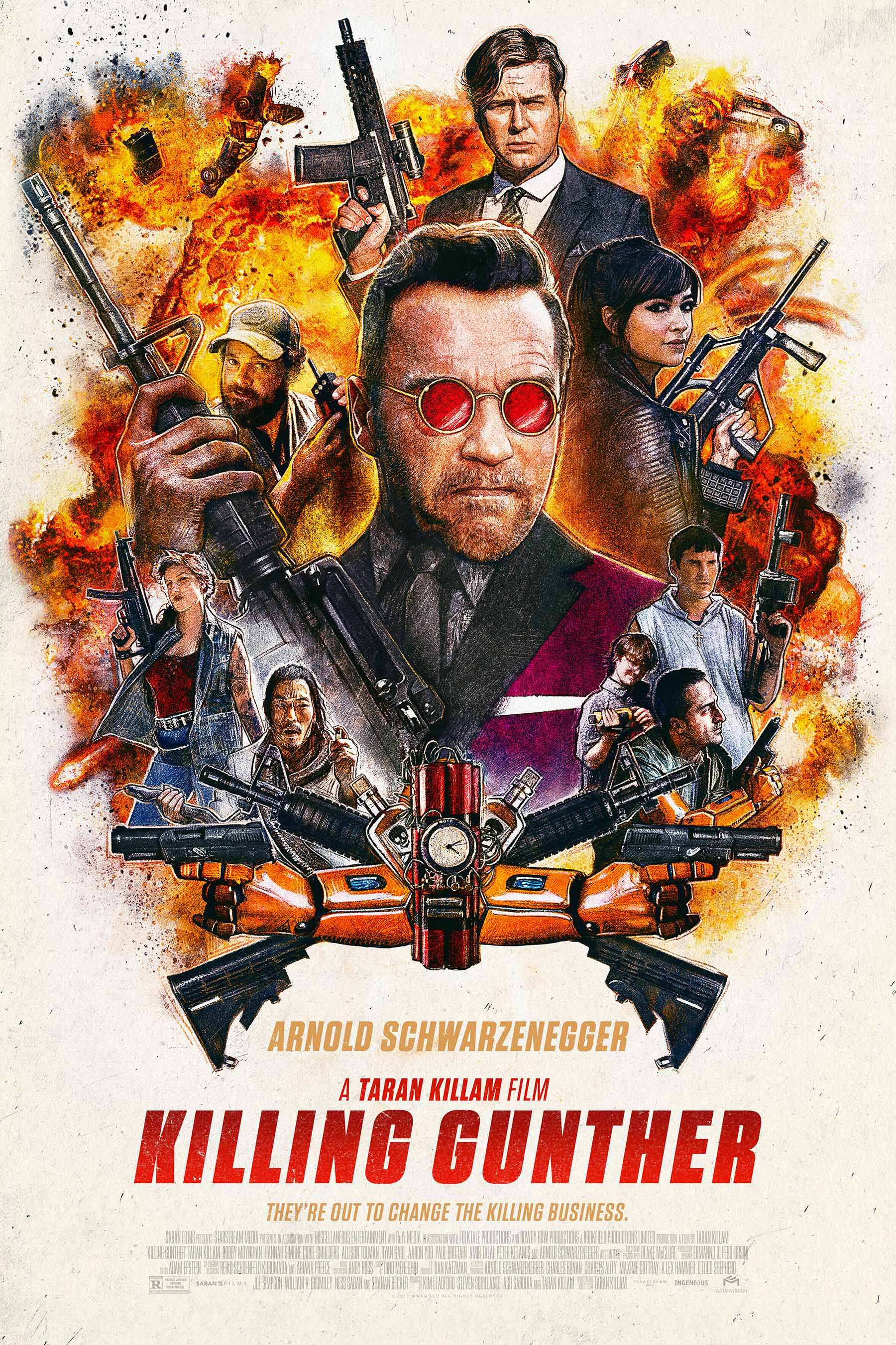 Image result for killing gunther movie poster