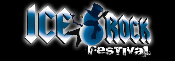 Ice Rock Festival Banner