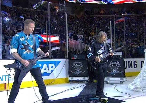 Metallica Icehockey