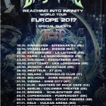 Dragonforce Tour 2017