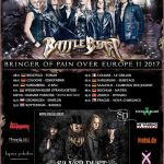 Battle Beast Tour 2017