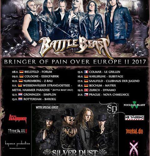 Battle Beast Tour 2017